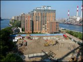 Northtown Construction on Roosevelt Island